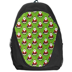 Christmas Santa Santa Claus Backpack Bag by Nexatart