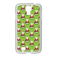 Christmas Santa Santa Claus Samsung Galaxy S4 I9500/ I9505 Case (white)