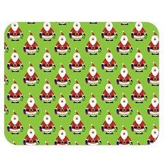 Christmas Santa Santa Claus Double Sided Flano Blanket (medium)  by Nexatart