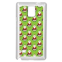 Christmas Santa Santa Claus Samsung Galaxy Note 4 Case (white)