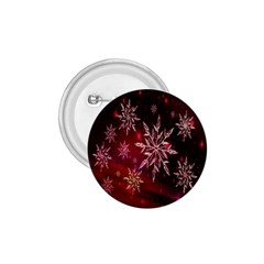 Christmas Snowflake Ice Crystal 1 75  Buttons by Nexatart