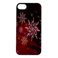 Christmas Snowflake Ice Crystal Apple Iphone 5s/ Se Hardshell Case