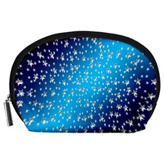 Christmas Star Light Advent Accessory Pouches (large)  by Nexatart