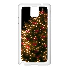 Christmas Tree Samsung Galaxy Note 3 N9005 Case (white) by Nexatart