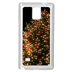 Christmas Tree Samsung Galaxy Note 4 Case (white)