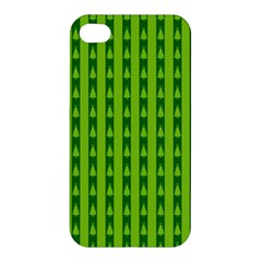 Christmas Tree Background Xmas Apple Iphone 4/4s Hardshell Case