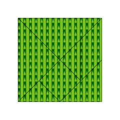 Christmas Tree Background Xmas Acrylic Tangram Puzzle (4  X 4 )