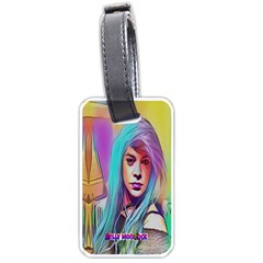 Drag On Go Luggage Tags (one Side)  by MRTACPANS