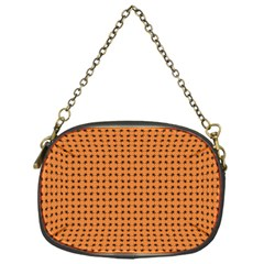 Crazy Bugs Orange Chain Purses (one Side)  by CannyMittsDesigns