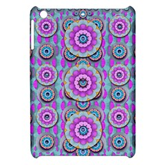 Magic Flowers From  The Paradise Of Lotus Apple Ipad Mini Hardshell Case by pepitasart