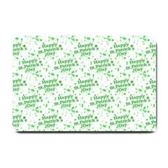 Saint Patrick Motif Pattern Small Doormat  by dflcprints