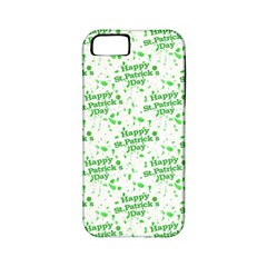 Saint Patrick Motif Pattern Apple iPhone 5 Classic Hardshell Case (PC+Silicone)