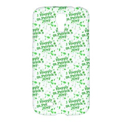 Saint Patrick Motif Pattern Samsung Galaxy S4 I9500/i9505 Hardshell Case by dflcprints