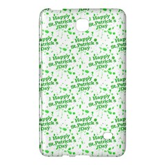 Saint Patrick Motif Pattern Samsung Galaxy Tab 4 (7 ) Hardshell Case  by dflcprints