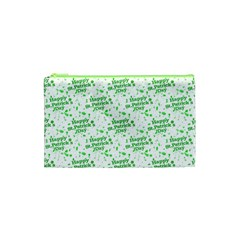 Saint Patrick Motif Pattern Cosmetic Bag (xs) by dflcprints