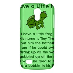 Little Frog Poem Galaxy S4 Mini by athenastemple