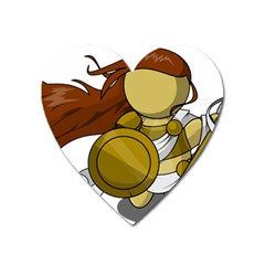 Athena Heart Magnet by athenastemple