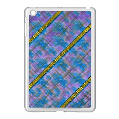A  Golden Starry Gift I Have Apple Ipad Mini Case (white) by pepitasart