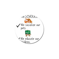 Homeschoolers Socialize Golf Ball Marker by athenastemple