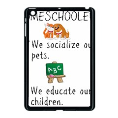 Homeschoolers Socialize Apple Ipad Mini Case (black) by athenastemple