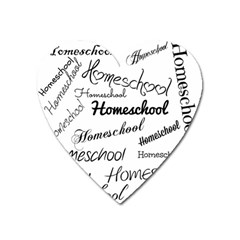 Homeschool Heart Magnet by athenastemple