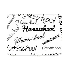 Homeschool Double Sided Flano Blanket (mini)  by athenastemple