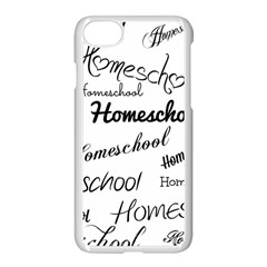 Homeschool Apple Iphone 7 Seamless Case (white) by athenastemple