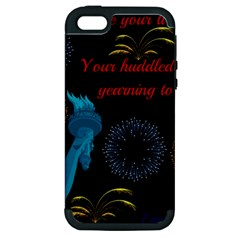 Huddledmasses Apple Iphone 5 Hardshell Case (pc+silicone) by athenastemple