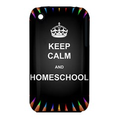 Keepcalmhomeschool Iphone 3s/3gs by athenastemple