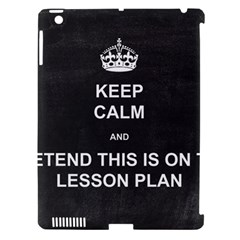 Lessonplan Apple Ipad 3/4 Hardshell Case (compatible With Smart Cover) by athenastemple