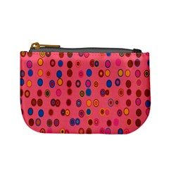 Circles Abstract Circle Colors Mini Coin Purses