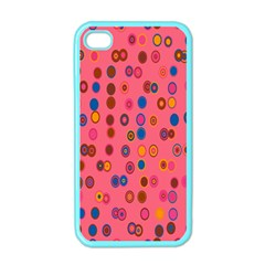 Circles Abstract Circle Colors Apple Iphone 4 Case (color) by Nexatart