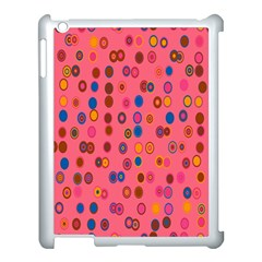 Circles Abstract Circle Colors Apple Ipad 3/4 Case (white)