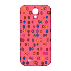 Circles Abstract Circle Colors Samsung Galaxy S4 I9500/i9505  Hardshell Back Case