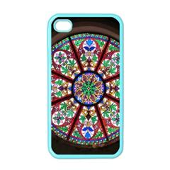 Church Window Window Rosette Apple Iphone 4 Case (color)