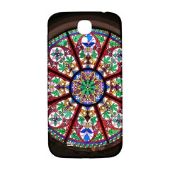 Church Window Window Rosette Samsung Galaxy S4 I9500/i9505  Hardshell Back Case