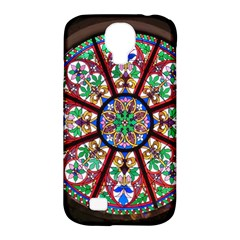 Church Window Window Rosette Samsung Galaxy S4 Classic Hardshell Case (pc+silicone)