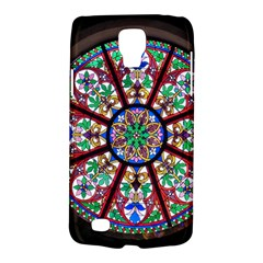 Church Window Window Rosette Galaxy S4 Active by Nexatart