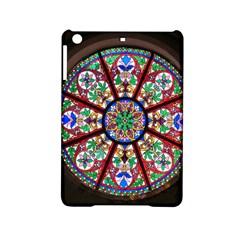 Church Window Window Rosette Ipad Mini 2 Hardshell Cases by Nexatart