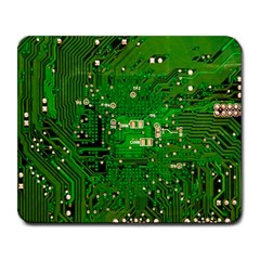 Circuit Board Large Mousepads by Nexatart