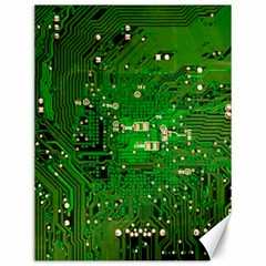 Circuit Board Canvas 12  X 16   by Nexatart