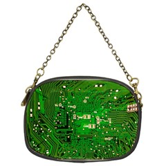 Circuit Board Chain Purses (one Side)  by Nexatart