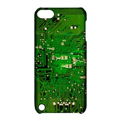Circuit Board Apple Ipod Touch 5 Hardshell Case With Stand