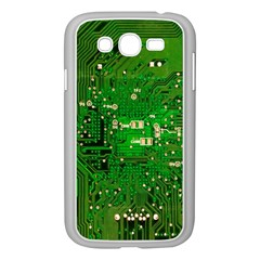 Circuit Board Samsung Galaxy Grand Duos I9082 Case (white) by Nexatart