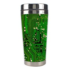 Circuit Board Stainless Steel Travel Tumblers by Nexatart