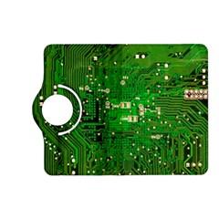 Circuit Board Kindle Fire Hd (2013) Flip 360 Case by Nexatart