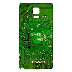 Circuit Board Galaxy Note 4 Back Case