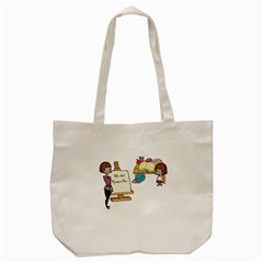 Mom Tote Bag (cream) by athenastemple
