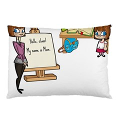 Mom Pillow Case (two Sides) by athenastemple