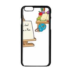 Mom Apple Iphone 6/6s Black Enamel Case by athenastemple